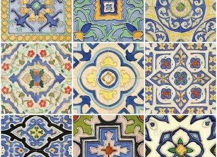Azulejos azulejos pinterest mosaicos baldosa y cer mica - Azulejos y baldosas ...