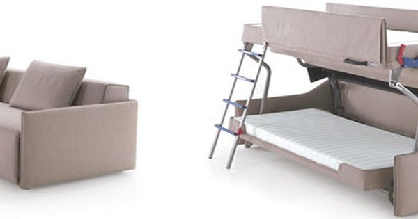 The Coolest Couch We Ve Ever Seen Couch Bunk Beds Bunk Beds Bunk Bed Designs