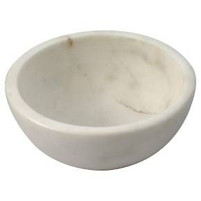 4oz Marble Dip Bowl White Thirstystone Dip Bowl Marble Bowl Bowl