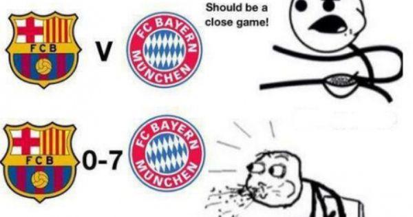 Funny Pictures Barcelona Vs Bayern Munich Www Mineraltravel Com Bayern Munich Bayern Real Madrid Bayern Munich