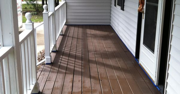 Behr Deck Over In Padre Brown For The Home Pinterest