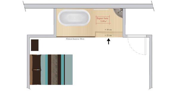 conseils d 39 architecte comment am nager un espace douche ou bain dans une chambre photos. Black Bedroom Furniture Sets. Home Design Ideas