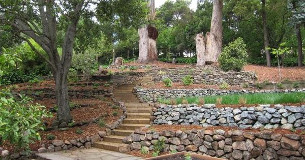 Jardin en pente moderne id es et conseils en 25 photos for Idee terrassement