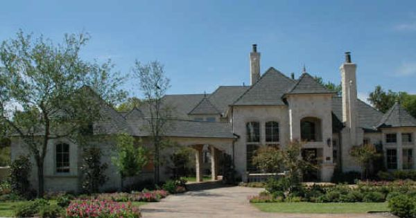 King S Lake Mckinney Texas Old World Design 6000 Sq Ft Lakefront Home Courtyard House Plans House Plans Courtyard House