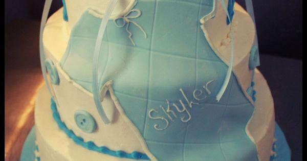 boy -Baby shower cakes