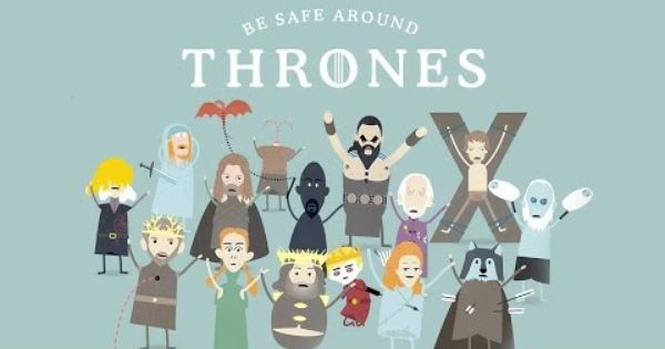 Dumb Ways To Die Game Of Thrones Edition Spoiler Alert