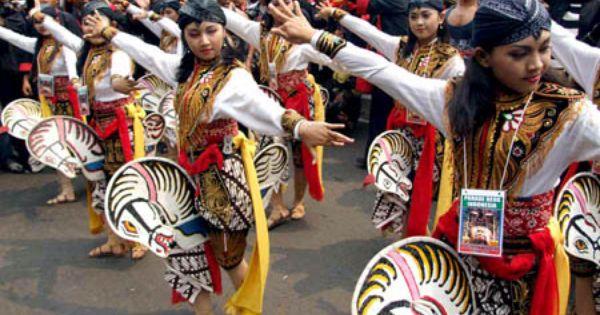 Indonesian Traditional Dance Tari Kuda Lumping Penari Indonesia Budaya