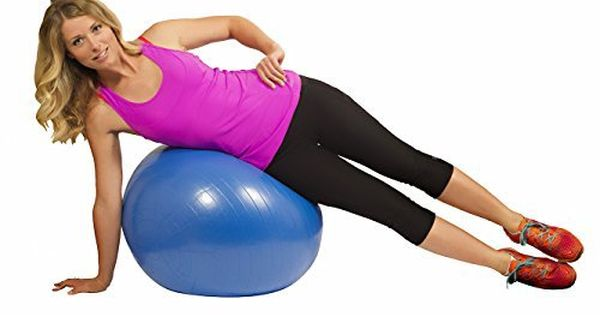 Multiple Sizes Stability Workout Guide /& Quick Pump Included for Fitness URBNFit Exercise Ball Balance /& Yoga Anti Burst Professional Quality Design
