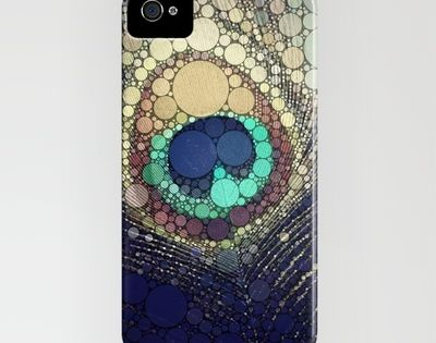Buy Peacock Feather by Love2Snap as a high quality iPhone & iPod