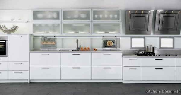 Modern white kitchen cabinets 18 kitchen for Alno kitchen cabinets