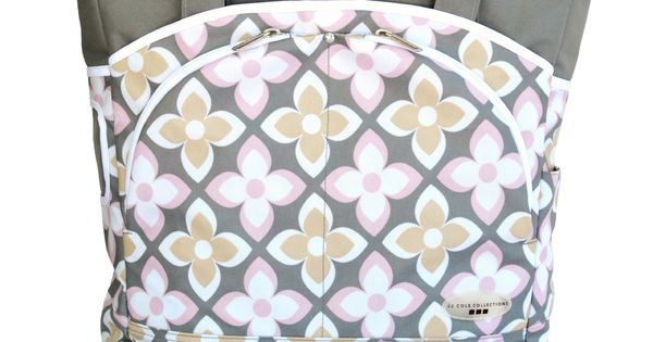 jj cole mode in pink lily because pink is a moms best friend jjcole diaperbag style jj. Black Bedroom Furniture Sets. Home Design Ideas