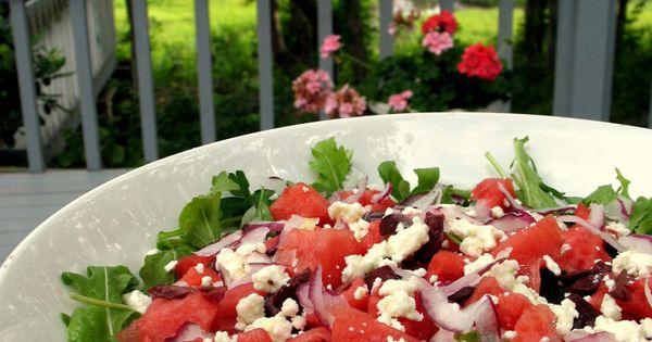 Arugula salad, The o'jays and Watermelon on Pinterest