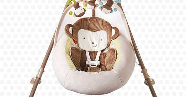 Fisher-Price My Little SnugaMonkey Special Edition Cradle 'n Swing | Fisher price