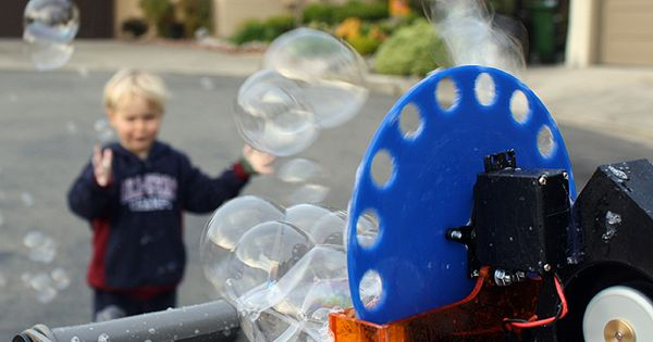 DIY Bubble Machine: The Perfect Project For Geeks & Their Kids ...