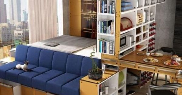 10 transforming furniture designs perfect for tiny apartments small living spaces cubes and - Transforming furniture for small spaces image ...