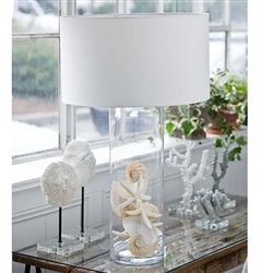 Display Glass Cylinder Lamp By Regina Andrew 5 7084 Bright Decor