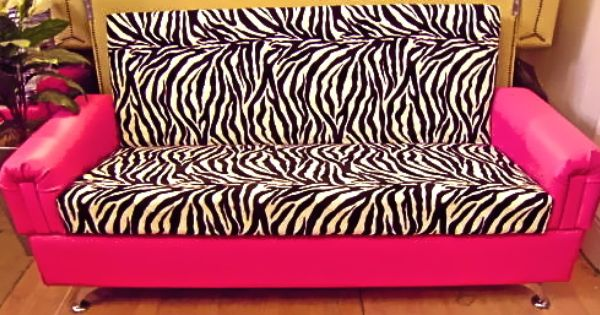 Zebra Couch Is Really Pretty Nice I Like It A Lot1 Couch Pinterest