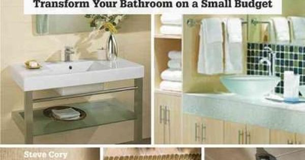 Affordable Bathroom Upgrades Tramsform Your Bathroom On A Small Budget Paperback