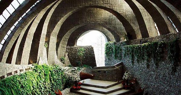 The stone church in karuizawa is created around the 5 for Karuizawa architecture
