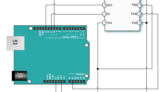 Mcp41010 Arduino Connections Elettronica