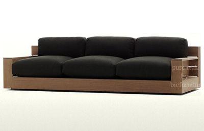 Ws65 Wooden Contemporary Sofa Set Contemporary Sofa Design