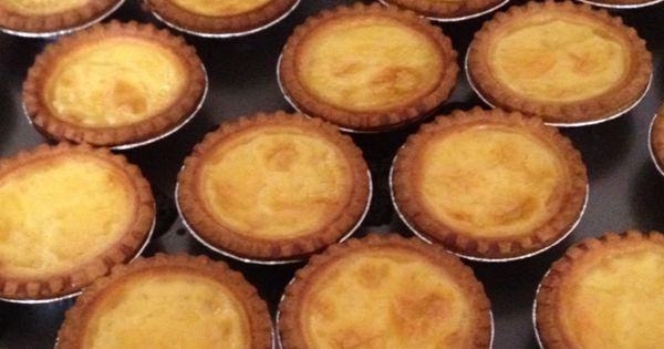 Portuguese, Portuguese egg tart and Egg tart on Pinterest