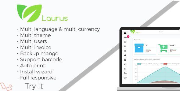 Laurus Pharmacy Management System Website Hosting Script Invoice Template