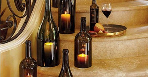 basteln mit glasflaschen 15 kreative und originelle diy ideen mama pinterest diy ideen. Black Bedroom Furniture Sets. Home Design Ideas