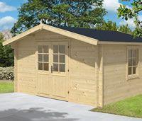 Gunda Log Cabin 4m X 4m Double Doors Cabin Door Fittings