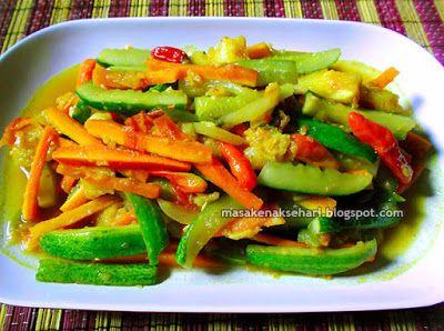 Resep Acar Kuning Timun Wortel Nanas Bumbu Prasmanan Aneka Resep Masakan Sederhana Sehari Hari Resep Resep Masakan Masakan