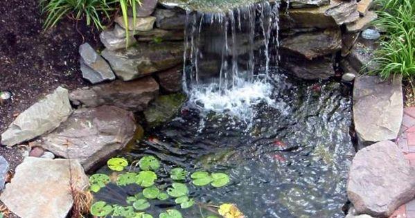 Diy garden fountain diy easy tips to build a better for Garden pond advice