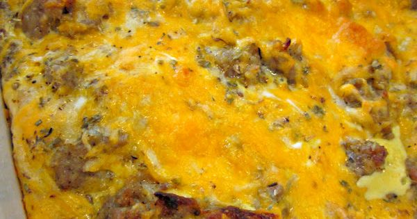Six Sisters' Stuff: Sausage Breakfast Casserole Recipe breakfast