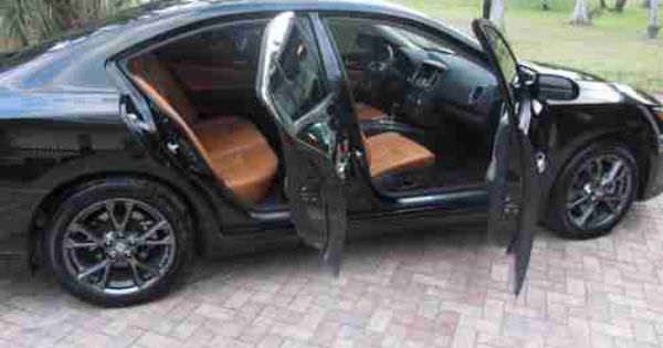 Purchase Used 2012 Nissan Maxima S Sedan Limited Edition Custom Peanut Butter Leather In Naples Florida United States Nissan Maxima Nissan 2010 Nissan Maxima