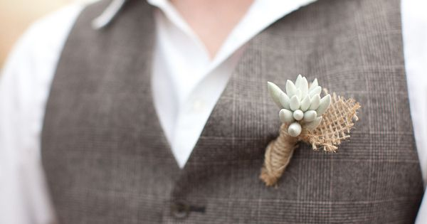 Boutonnieres For The Boys
