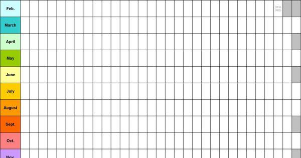 Blank Calendar 9 Free Printable Microsoft Word Templates Blank Calendar Template Calendar Template Yearly Calendar Template