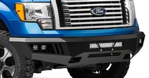 Barricade F 150 Extreme Hd Front Bumper With Led Light Bar Fog And Spot Lights T528775 09 14 F 150 Excluding Raptor Ford F150 Bumpers Ford Accessories