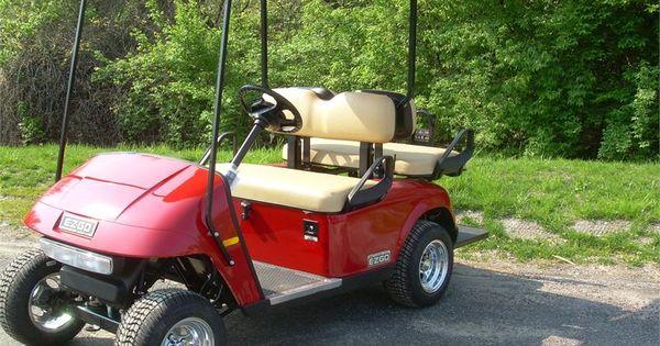 2011 ez go txt 48 volt electric golf cart 48 volt for Narrow golf cart