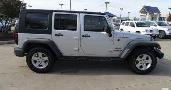 2010 Jeep Wrangler Unlimited Sport 4x2 Sport 4dr Suv For Sale In Baton Rouge Louisiana Suv Louisiana Suv Car