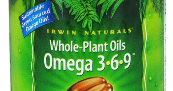 Irwin Naturals - Plant-Sourced Omega 3-6-9 - 90 Softgels