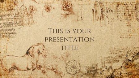60 Influential Powerpoint Templates For Free Download History Background Powerpoint Template Free Presentation Template Free
