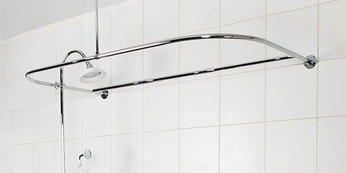 How To Shower When You Only Have A Bathtub Shower Curtain Rods