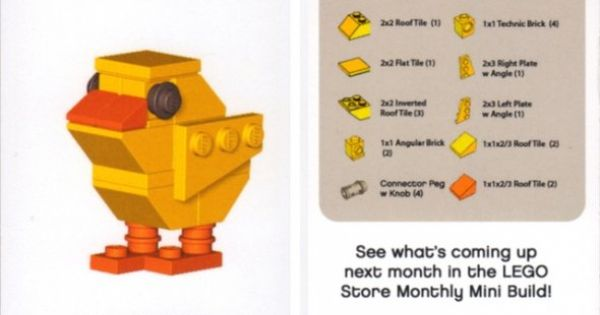 lego easter bunny instructions