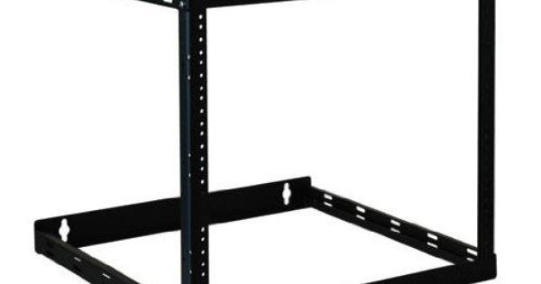 Tripp Lite Srw08u22 Wall Mount 2 Post Open Frame Rack Cabinet 8u 14u 22u Black Framed Cabinet Tripp Lite Open Frame