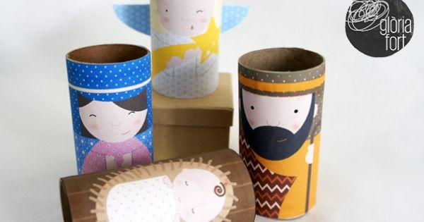 Pessebre | Free Printable, Toilet Paper Rolls and Toilet Paper