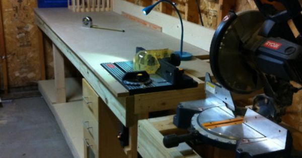 7 additionally This Week In The Shop The Tool Stand furthermore Search looney 20tunes 20bugs 20bunny 20and 20daffy 20cake 20topper 20kit furthermore All In One Woodworking Bench in addition Watch. on workbench with integrated table saw and router
