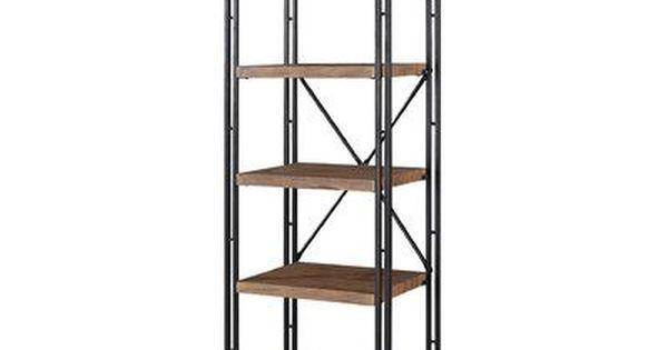 17 Stories Aristaun Coaster Etagere Bookcase Bookcase Coaster Furniture Wooden Shelves