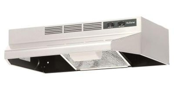 Broan Nutone Rl6200 Series 24 In Ductless Under Cabinet Range Hood With Light In Stainless Steel Rl6224ss The Home Depot Non Vented Range Hood Range Hood Broan