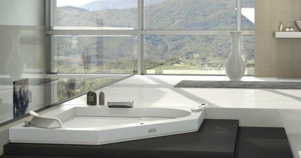 Eck- Whirlpool Badewanne Aus Corian® Aura Corner 140 Corian ... Whirlpool Badewanne Designs Jacuzzi