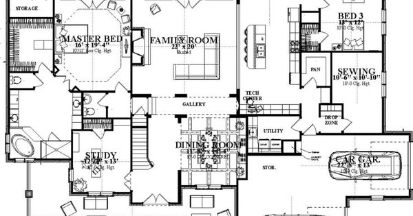 million dollar floor plans plan 63 392 million dollar plans
