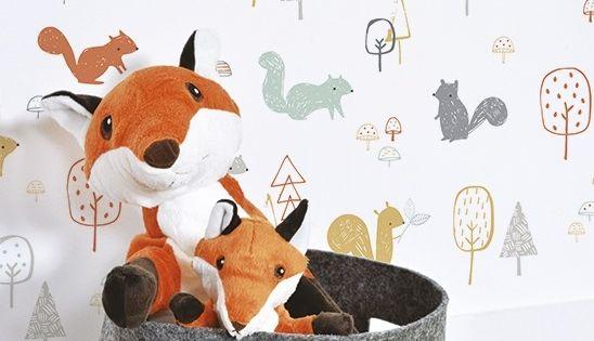 Papeles para ni os - Papel pintado animales ...